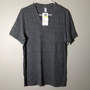 Alternative Apparel v-neck medium grey